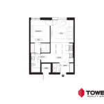 Towers Realty Group - Spot on Pembina floor plan - 02151101 - 1 bed type 1