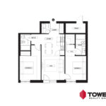 Towers Realty Group - Spot on Pembina floor plan - 02152201 - 2 bed type 1