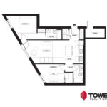 Towers Realty Group - Spot on Pembina floor plan - 502152206 - 2 bed type 6