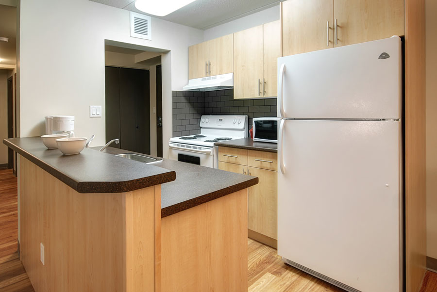 Apartments For Rent Winnipeg - Drury Apartment Kitchen - Towers Realty