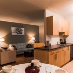 Apartments For Rent Winnipeg - Owen Dining Room, Family Room, and Kitchen - Towers Realty