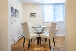 Towers Realty Group - Queensbury Apartments - Dining Room