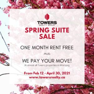 Towers Spring Suite Sale 2021