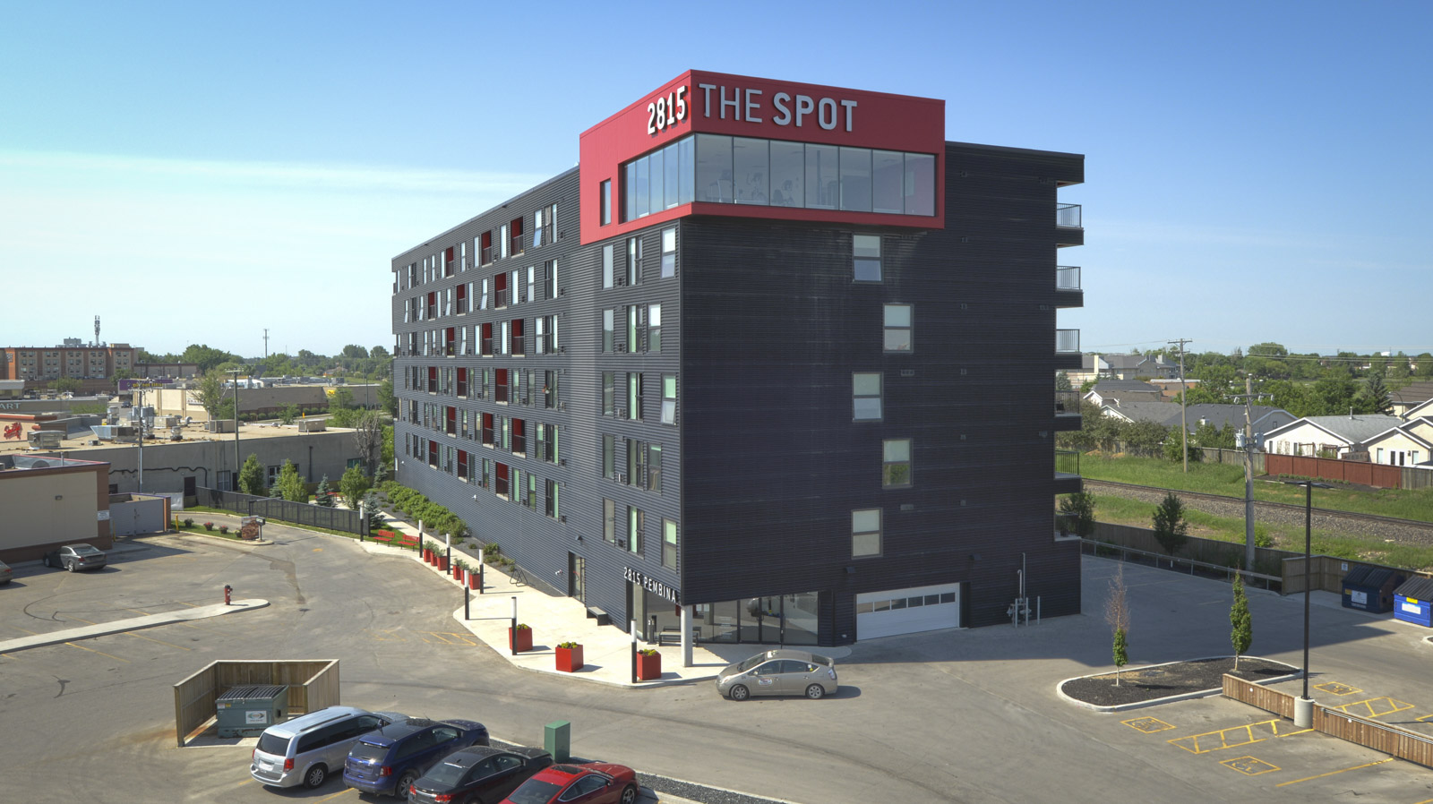 Towers Realty Group - The SPOT at 2815 Pembina - exterior 2