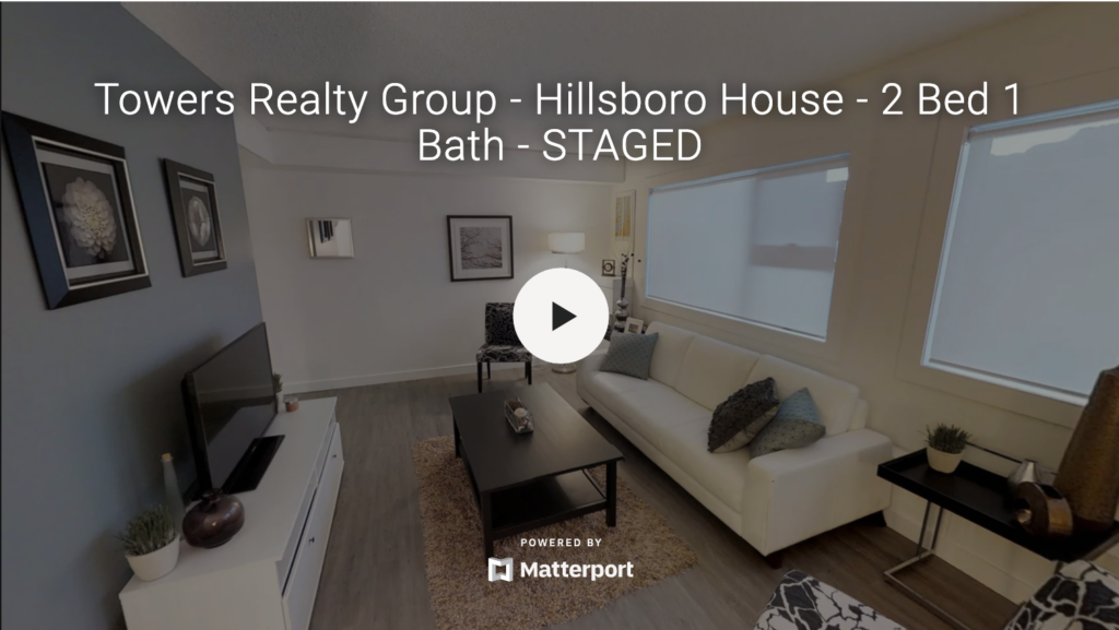 Towers Realty Group - Hillsboro House - 2 Bedroom 3D tour