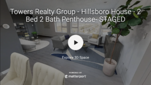 Towers Realty Group - Hillsboro House Penthouse 3D Tour