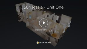 Towers Realty Group - 604 Jessie - Unit 1 - 3D Tour