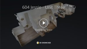 Towers Realty Group - 604 Jessie - Unit 3 - 3D Tour