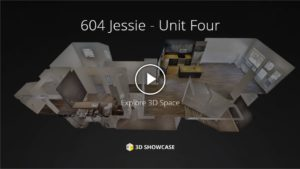 Towers Realty Group - 604 Jessie - Unit 4 - 3D Tour