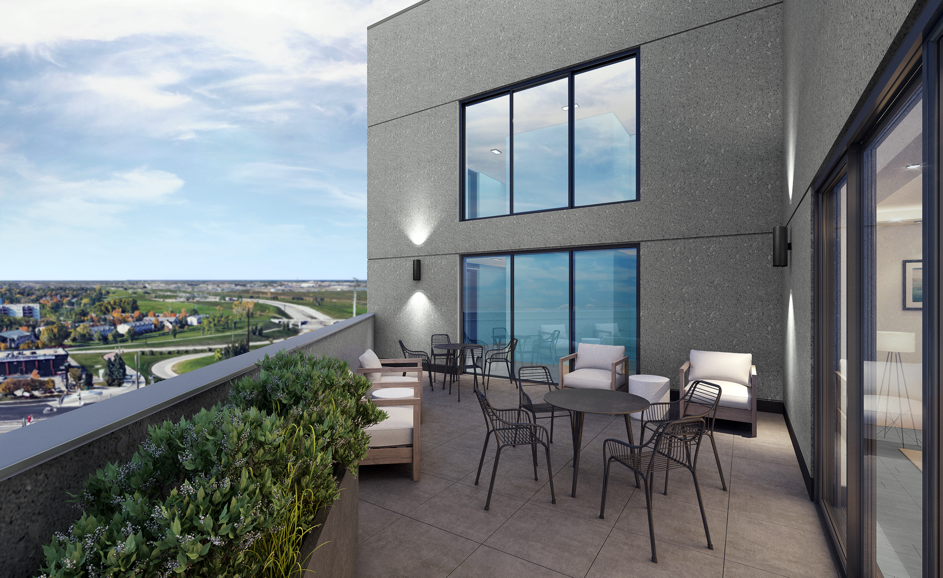 Towers Realty Group - 30UC - 6th Floor rooftop terrace