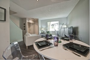 Towers Realty Group - Scotland Ave Duplex - Dining/Living