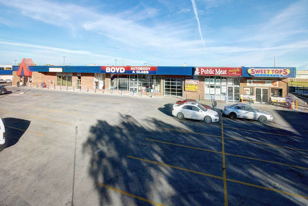 Commercial Property Management Winnipeg - Commercial Building - Towers Realty