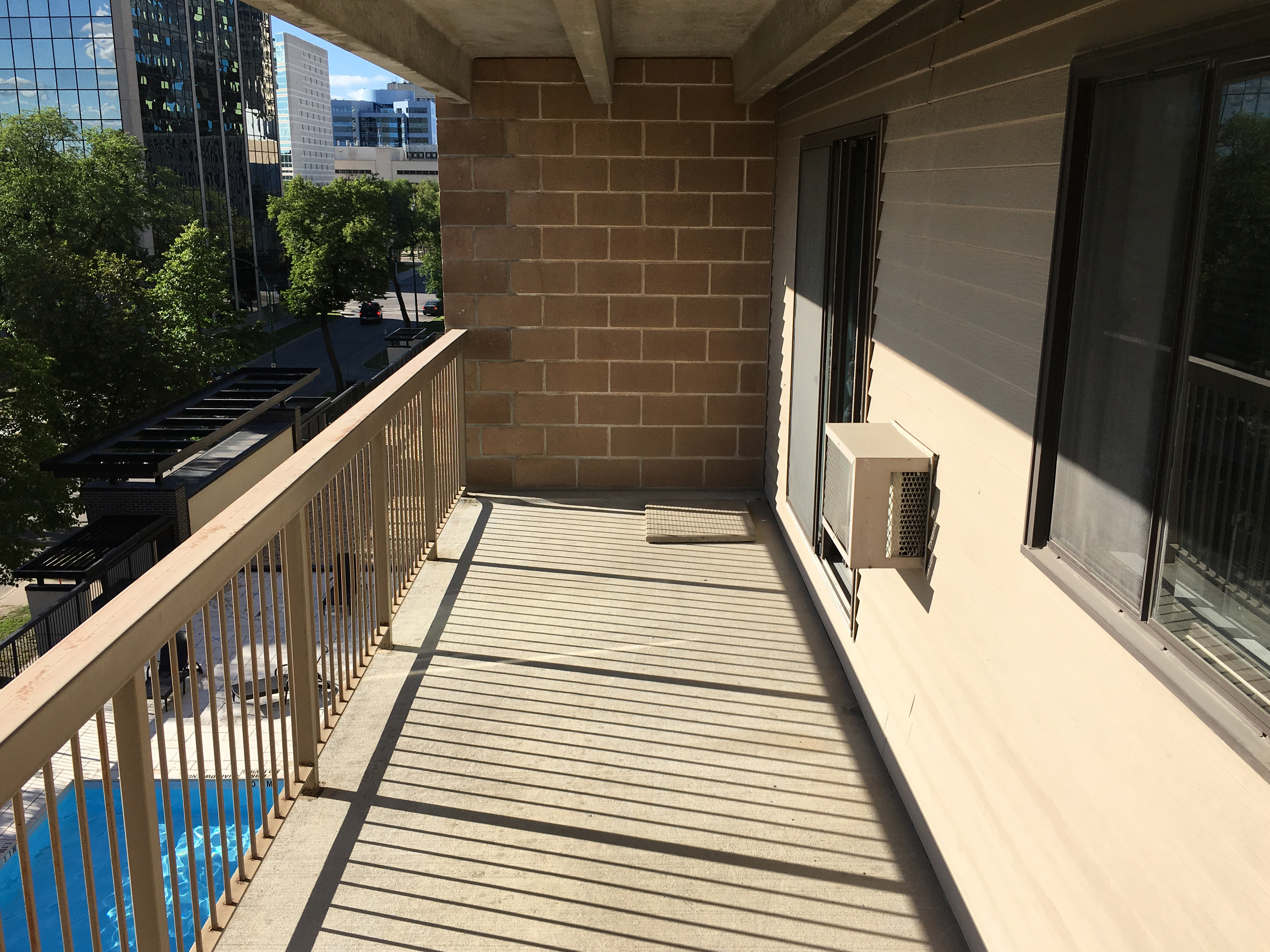Towers Realty Group - The Colonnade - Balcony