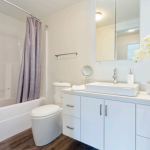 Apartments For Rent Winnipeg - 2815 Pembina Apartment Bathroom - Towers Realty