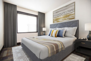 Towers Realty Group - The Ritz - 2BR - Bedroom 1