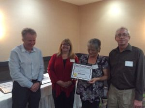 Caretaker Awards - Rehab - Waters Edge - Bev and Fred Enns