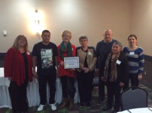 Caretaker Awards - Special Recognition - Lanark - Maureen Loewen and Team