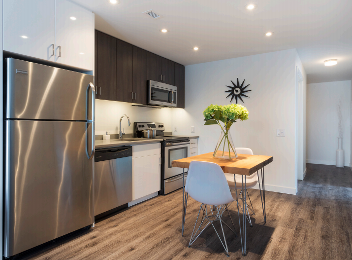 Towers Realty Group - The Spot at 2815 Pembina - kitchen-dining