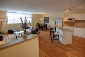 Towers Realty Group - Lanark Towers - Living-Dining-Kitchen