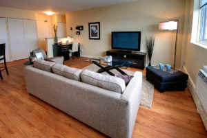 Towers Realty Group - Lanark Towers - Living Room