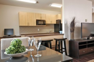 Apartments For Rent Winnipeg - Laralea Apartment Dining Room and Kitchen - Towers Realty