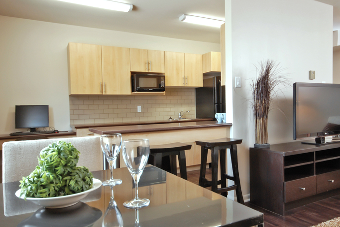 Towers Realty - Laralea Apartments - 111 Grey St - Dining-Kitchen