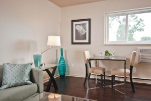 Apartments For Rent Winnipeg - Laralea Apartment Dining Room - Towers Realty