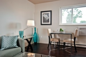 Towers Realty - Laralea Apartments - 111 Grey St - Living-Dining