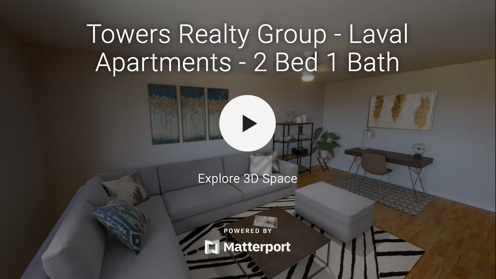 Towers Realty Group - Laval Apartments - 2 Bedroom 3D tour
