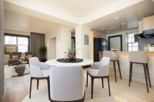 Towers Realty Group - The Ritz - 1BR - 04 - Living-Dining