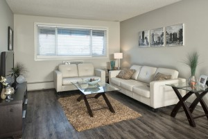 Towers Realty Group - Birchgrove Manor - 2BR - Living Room