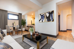 Towers Realty Group - The Ritz - 2BR - Living Room