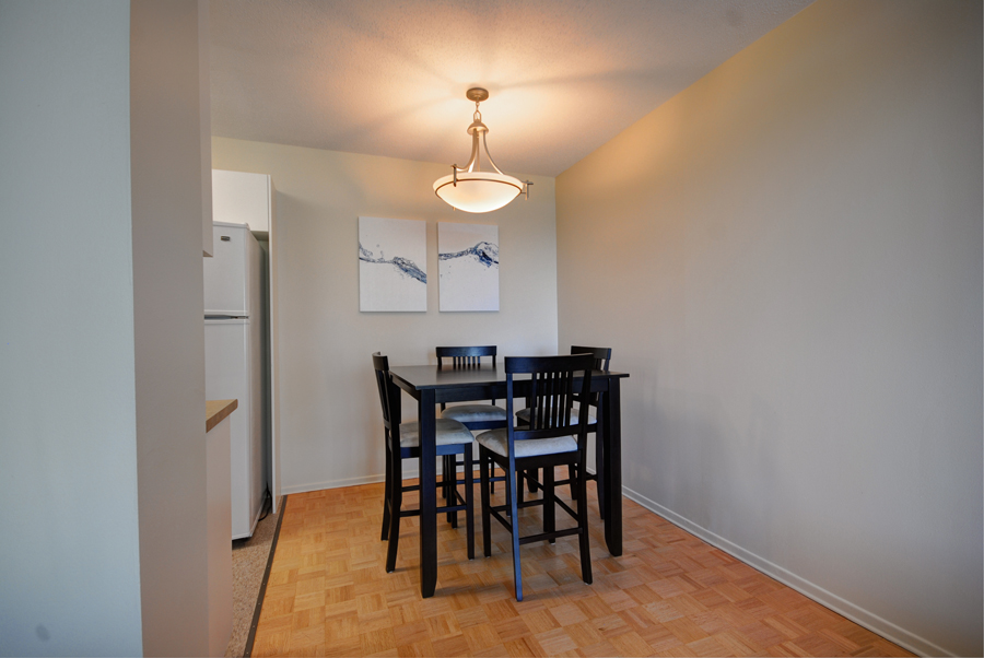 Apartments For Rent Winnipeg - Olympic Apartment Dining Room - Towers Realty