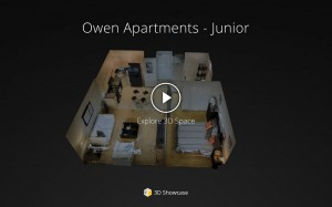 Owen Apartments - Junior 1 BR 3D Tour