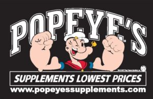 Popeye's Supplements logo