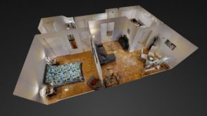 Queensbury - 1 Bedroom 3D Tour