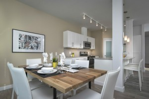 Apartments For Rent Winnipeg - Ridge Apartment Dining Room and Kitchen - Towers Realty