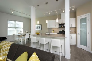 Towers Realty Group - The Ridge Townhouses - Kitchen-Dining1