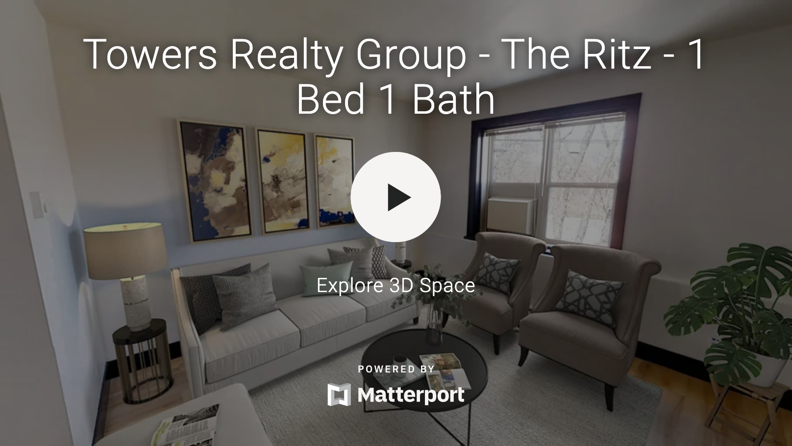 Towers Realty Group - The Ritz - 3D Tour - 1 bedroom