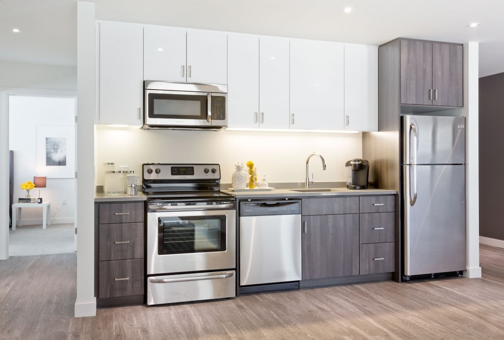 Apartments For Rent Winnipeg - Spot 785 Apartment Kitchen - Towers Realty
