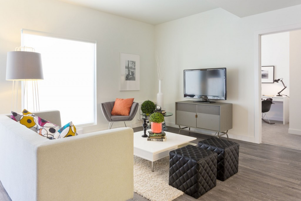 Apartments For Rent Winnipeg - Spot 785 Apartment Family Room - Towers Realty