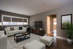 Towers Realty Group - Hugo Apartments - Living Room