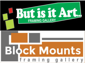 But is it Art... and Block Mounts Framing Gallery logo