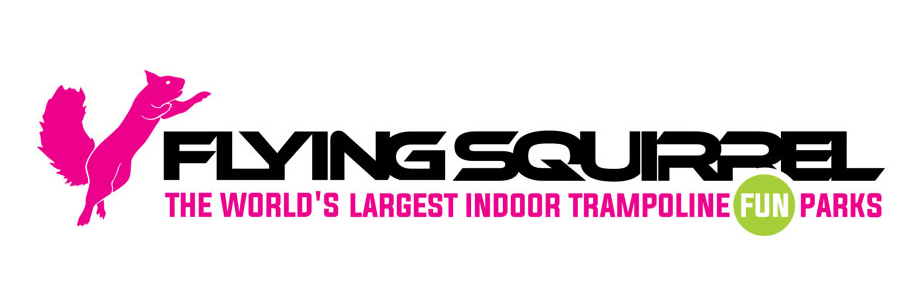 Flying Squirrel Trampoline Park logo